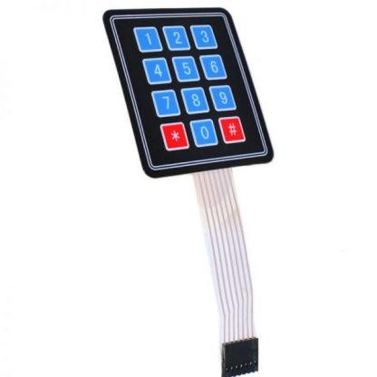 Matrix Membrane Keypad 3x4 12-Key for Arduino