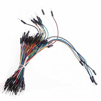 Breadboard Jumper Cable Wires Μ-Μ 65 τεμάχια