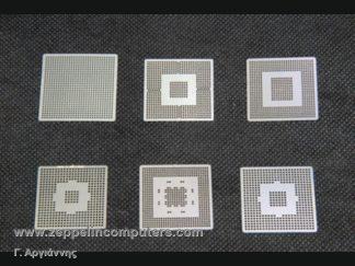 BGA 6 τμχ NVIDIA Direct Heat Stencils - Pack 1