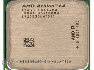 AMD ATHLON 64 3800 SOCKET939