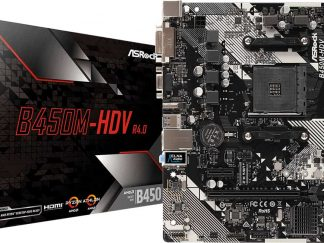ASROCK MB B450M-HDV R4.0