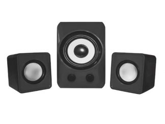 Approx 2.1 Channel APPSP21M 1 Woofer 2 Speakers Black