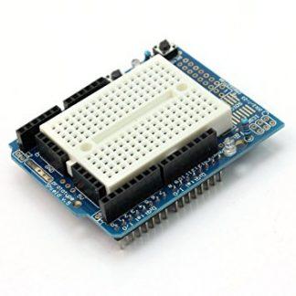 Arduino Prototyping Shield + Mini Breadboard for Arduino Uno