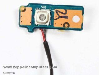 Dell Inspiron Mini 1010 Power Button Board