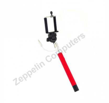 Element Monopod Selfie Stick Red