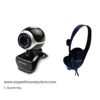 Element Web Camera/Headphone Set