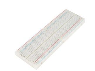 Breadboard 830 Tie Points Full-Size White