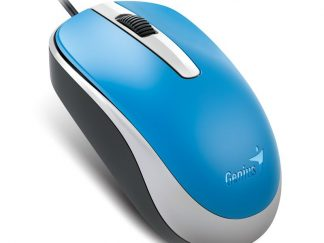 Genius DX-120 Wired Optical Mouse, Blue