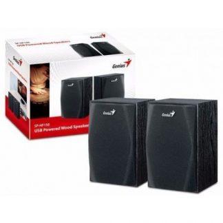 Genius USB Speakers SP-HF160, Black Wood