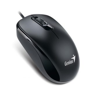 Genius DX-120 Wired Optical Mouse, Black