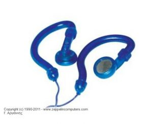 HQ STEREO EAR HOOK HEADPHONES