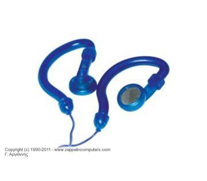 HQ STEREO EAR HOOK HEADPHONES