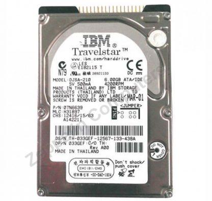 IBM DJSA-210 HDD 10GB 2.5' IDE
