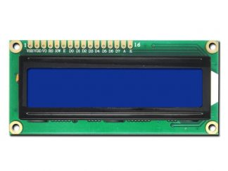 LCD Display Module 16x2 with Blue Backlight