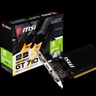 MSI NVIDIA GeForce® GT 710 1GB (GT710-1GD3HLP)