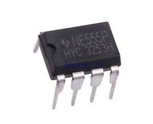 RC Timer NE555P Single Bipolar 10V 500kHz