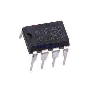 RC Timer NE555P Single Bipolar 10V 500kHz