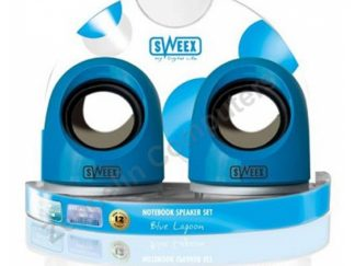 Sweex Notebook Speaker Set Blue Lagoon