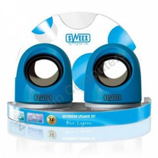 Sweex Notebook Speaker Set Blue Lagoon