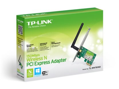 TP-LINK 150Mbps Wireless-N PCI Express Adapter