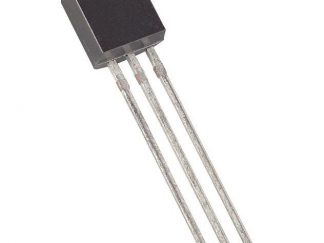 Temperature sensor DS18B20+ -55--125°C TO92 THT