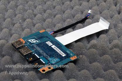 Toshiba Tecra M3 Audio & USB Board W/ Cable