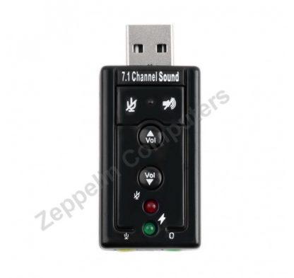 USB EXTERNAL 3D 7.1 CHANNEL SOUND CARD