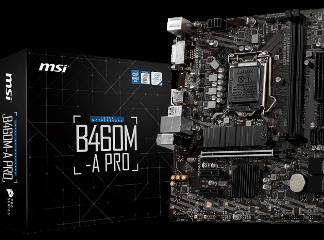 MSI MB B460M-A PRO