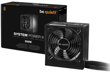 BEQUIET PSU SYSTEM POWER 9 500W BN246