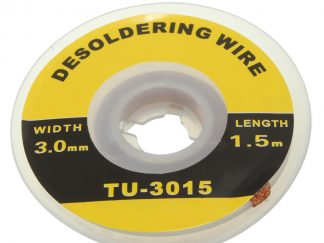 Desoldering Wick 3mm wide