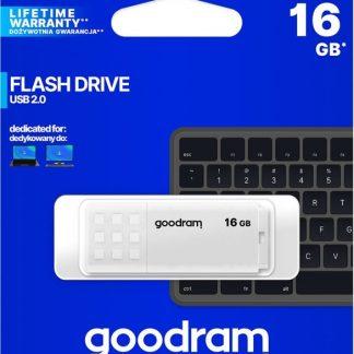 GoodRAM UME2 16GB USB 2.0 Flash Drive, White